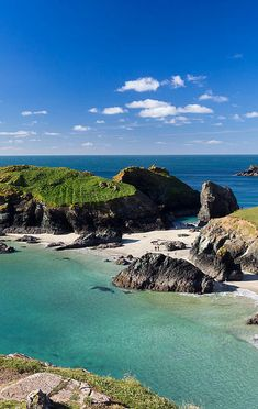 Kynance Cove, Cornwall - Our favorite beach in Britain.