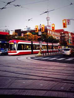 Toronto needs more streetcars. The 511 as buses because of this Visit Toronto, Toronto Ontario Canada, Toronto City, Metro Subway, Buffalo New York, City Logo, U Bahn, Emu, City Streets