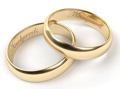 Wedding Ring Engraving for Newlyweds
