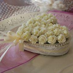 11€ Ringkissen Hochzeit Eheringe in Creme künstlich