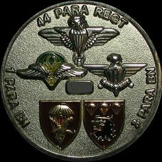 SADF - Airborne Para Challenge Coin Military Humor, Military History, Challenge Coins, Paratrooper, Africans, Army, Personalized Items, Gi Joe, Military