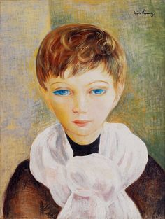 KISLING, Moise Polish-born French (1891-1953)_Portrait of a Young Boy