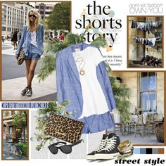 """The shorts story"" by helleka on Polyvore"