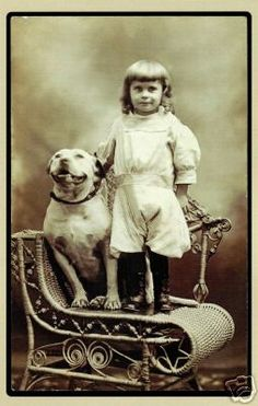 FOR OVER ONE HUNDRED YEARS AMERICANS KNEW PIT BULLS FOR WHAT THEY DID BEST. BABYSITTING. Part I. | Yonah Ward Grossman