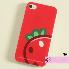 Strawberry Print iPhone 4/4s Case from #YesStyle <3 Cuteberry YesStyle.com.au