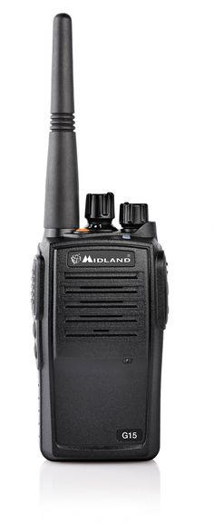 Midland G15 Distribué par Alan-France http://www.alanfrance.net/index.php/best-of-midland/talkie-walkie-radios-midland/pmr446-pro/talkie-walkie-g15-nouveau