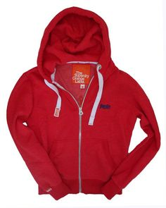 Superdry Mens Orange Label Ziphood - Rich Red Marl – Moyheeland Traders Gorgeous soft cotton hoody that's great with shorts! Now £53.95 plus free p&p www.moyheelandtraders.com