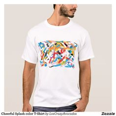 Cheerful Splash color T-Shirt
