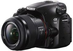 Einsteigerkamera Sony Alpha 58 im Test - digital-kameratest.de