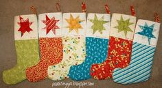 Great stocking tutorial. I used this to make stockings two years ago and I had to find it so I could another one!