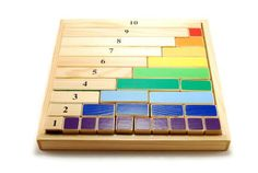 Montessori mathematical wooden game content of numbers ages