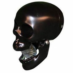 Picture of Skull Headlight Black