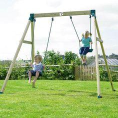 TP Forest Double Swing 2 from our children's Garden Swings range