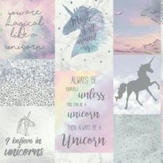 Believe In Unicorns Glitter Wallpaper Arthouse 698300 This stunning Believe In Unicorns Glitter Wallpaper by Arthouse is ideal for unicorn fans of all ages. The collage style design is made up of images of unicorns and inspirational quotes accented by pastel candy colours and sprinkles of glistening glitter and metallic highlights. This wallpaper could be used to create a stylish feature wall or to decorate an entire room. Coordinating wallpapers are also available from the Arthouse…