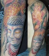 20 Spiritual and Stunning Buddhist Tattoo Designs Buddha Tattoo Design, Buddha Tattoos, Buddha Tattoo Meaning, Compass Tattoo Design, Tattoos With Meaning, Great Tattoos, Unique Tattoos, Beautiful Tattoos, Body Art Tattoos