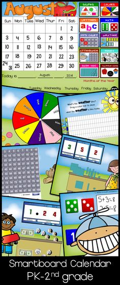 Smartboard Kindergarten Calendar : Interactive calendar smartboard search results