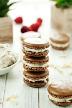 SNICKERS® Macarons | asimplepantry.com #WhenImHungry #ad