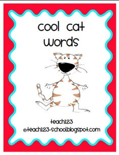 From TEACH123 - FREE  Blog post about helping ESL students, plus free vocabulary activities.
