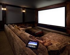 Home theaters design basement home theater ideas (home theater ideas) Tags: small basement . Home Theater Room Design, Home Cinema Room, At Home Movie Theater, Best Home Theater, Home Theater Setup, Home Theater Speakers, Home Theater Rooms, Home Theater Seating, Theatre Design