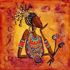 African Proverb Photo: This Photo was uploaded by poetic_journey. Find other African Proverb pictures and photos or upload your own with Photobucket fre. African Artwork, African Art Paintings, Arte Tribal, Tribal Art, African Proverb, Africa Art, Isabelle, Black Artists, Black Women Art