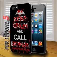 Stay Crazy and call Joker - design case for iphone 5 | shayutiaccessories - Accessories on ArtFire