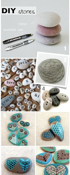 diy decor | diy decorating stones
