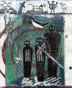 Modern Native Ametican Concept Art