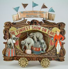 Artfully Musing: Altered Altoids Tin – The World's Smallest Elephants (front) AMAZING!!