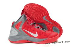 reputable site a5c8b a6594 Nike Zoom Hyperenforcer Shoes In Red White Gray Sports Shoes, Basketball  Shoes, Kobe Shoes
