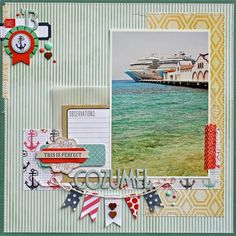 Cozumel - Scraptastic Club Kit - Susan Stringfellow