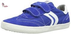 Geox Kiwi M, Sneakers basses garçon - Multicolore (Royal/Off White) - 29 EU - Chaussures geox (*Partner-Link)