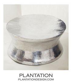 Plantation-Thimble Metal Coffee Table
