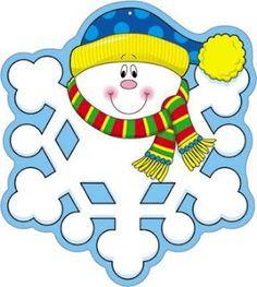 COSILLAS DE INFANTIL: Copos de nieve