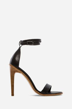 Tibi Amber Heel in Black  (they look painful)