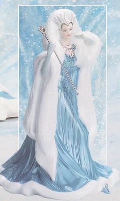 To Snow Queen Figurine Ebay Search