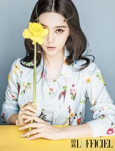 Fan Bingbing and Han Geng promote new movie with L'Officiel Photoshoot | Cfensi #Fanbingbing