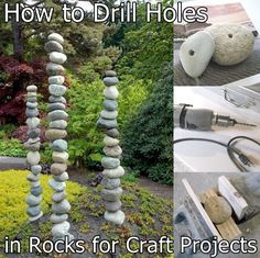 How to Drill Holes in Rocks for Craft Projects Homesteading - The Homestead Survival .Com
