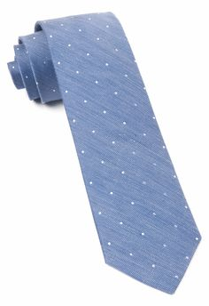 Bulletin Dot - Light Blue Necktie, $19 at www.TheTieBar.com