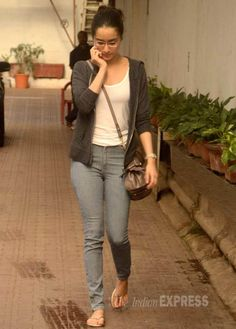 Shraddha Kapoor seen outside Karan Johar's office. #Bollywood #Fashion #Style…