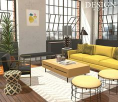 Design Home App, House Design, Design Homes, Outdoor Furniture Sets, Outdoor Decor, Game Design, Floor Chair, Couch, Patio