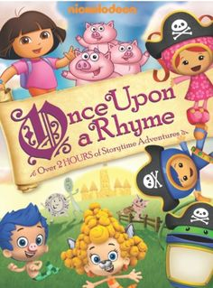 "[OVER] DVD Review: ""Nickelodeon Favorites: Once Upon a Rhyme"" (& Giveaway Ends 5/22)"