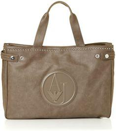 d72714d2455c Armani Jeans Brown tote bag