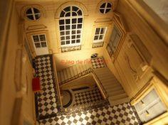 Maquette Petit Trianon Escalier
