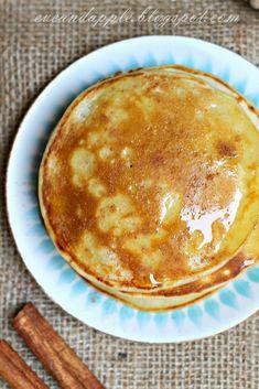 Eve and Apple: Tiganites - görög palacsinta Chimichanga, Delish, Breakfast Recipes, Pancakes, Food And Drink, Eve, Fudge, Favorite Recipes, Yummy Food