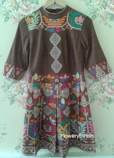 Ginger dress - front-songket bali
