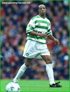 Ian Wright of Celtic in Football Soccer, Football Shirts, Football Players, Ian Wright, Association Football, Celtic Fc, European Cup, Now And Forever, One Team