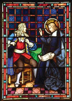 The Life of De La Salle | Saint Mary's College.  De la Salle encourages a young man to reflect, to learn about the mission of the Brothers.