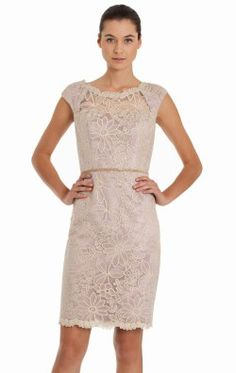 Floral Embellished Dress by JS Collections 864360