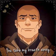Legend of Korra: you take my breath away