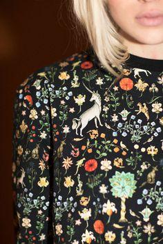 Samantha Pleet Clothing - Black Illuminated Chamber Shirt   BONA DRAG